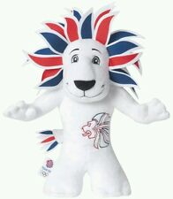 TEAM GB OLYMPIC MASCOTTE PLUSH @2009 Golden Bear England Premier League Figure