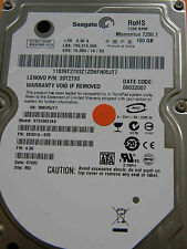 100 GB Seagate ST910021AS / 9S3014-070 / 4.06 / WU / 100349359 REV F hard drive