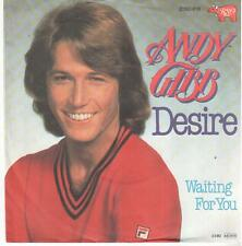 "457  7"" Single: Andy Gibb - Desire / Waiting For You"