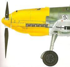 MESSERSCHMITT Bf 109 B-E Model Art 375 Superb Vintage Pictorial Me-109