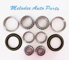 2 Front inner and 2 Front Outer Wheel Bearing With Seal for MAZDA RX-7 86 - 91