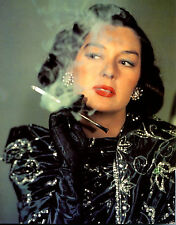 Rosalind Russell Smoking 8x10 photo R8489