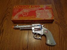 Vintage Collectible Stevens Cowboy King Toy Cap Gun with Box!!!
