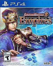 Dynasty Warriors 8 Empires for PS4 PlayStation 4 2015 Koei Station