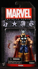 "2013 HASBRO MARVEL UNIVERSE INFINITE SERIES THOR 4"" ACTION FIGURE MOC NEW"