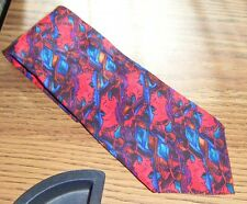 LADY WITH ELABORATE HEADRESS COLLECTION SIX TIE J. Garcia 100% Imported Silk