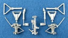 SAC 48082 Kinetic 1/48 Grumman E-2C Hawkeye White Metal Landing Gear