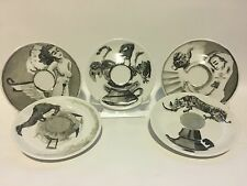 5 Willian Kentridge ILLY 2008 Art Collection Saucers Only