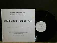 GRAVESEND SCHOOL FOR GIRLS & BOYS  Combined Concert 1969   Private  Lovely copy