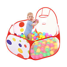 Children Toddlers Ocean Ball Pool Pit Play Tent Outdoor Indoor House 2016