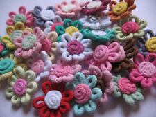 30 Cotton Spring Rope Sunflower Appliques/Craft-Mix C008