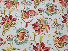 """BRYANT JORDANNA JUBILEE LARGE FLORAL INDOOR OUTDOOR FABRIC BY THE YARD 54""""W"""