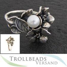 TROLLBEADS Ring Weißdorn mit Perle Gr. 51-60 - R5102