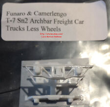 LMH Funaro F&C T-7 T7 Sn2  ARCHBAR FREIGHT TRUCKS  Single Spring Arch Bar 1-Pair