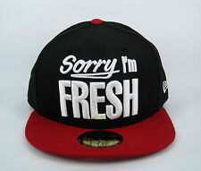 New Era Men's Sorry I'm Fresh And You're Not 59FIFTY Snapback Hat - Size 3/8