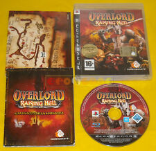 OVERLORD RISING HELL Ps3 Versione Ufficiale Italiana Over Lord »»»»» COMPLETO