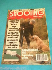 SHOOTING MAGAZINE - BROWNING FN - JAN 1990