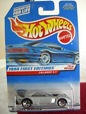 Hot Wheels Callaway C-7 1998 First Editions Silver