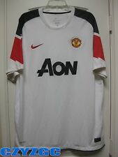 BNWT Manchester United 2010/11 Short-Sleeve Away Shirt XL