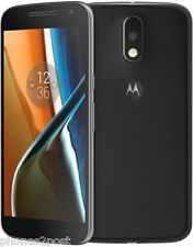 "BRAND NEW Motorola Moto G4 Black 5.5"" 16GB 4G Unlocked & SIM Free - LATEST PHONE"