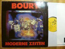 LP, Boury, Moderne Zeiten, Jazz Haus Musik, Kraut-Jazz, Booklet, Mint !