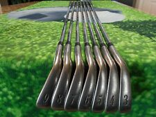 Titleist DCI Gold 981 iron Set 3-9 Regular Flex Steel Shafts Excellent condition