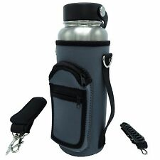 40 oz Sleeve Pouch w/ Adjustable Shoulder and Hand Straps for Hydro Flask Bottle