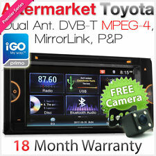 Car DVD GPS Player For Toyota Landcruiser Prado Hilux Stereo Digital TV MPEG-4