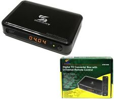 Sunkey Digital to Analog Converter Box W/ Learning Universal Remote Control New