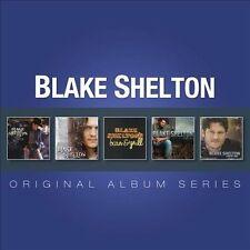 Original Album Series [Box] by Blake Shelton (CD, Sep-2012, 5 Discs, Warner...