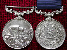 Replica Copy Liverpool Shipwreck and Humane Society Marine Medal Full Size Aged