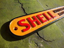 Shell Sign Shell Sold Here Sign Heavy Cast Sign Oil Vintage Petrol VAC006