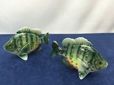 Sunfish Tropical Fish Ocean Sea Salt and Pepper Shakers Gift Japan Vintage 50s