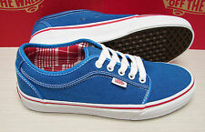 Vans Chukka Low Oxford Sky Blue Red Men's Size 7