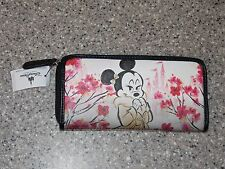 New 2017 Item Disney Parks Boutique Minnie Mouse Cherry Blossom Pink Wallet