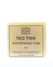 Árbol del té jabón antibacteriano natural-Sin SLS 100g Barra de aromaterapia aceite esencial
