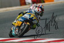 Dominique Aegerter Hand Signed 12x8 Photo Interwetten Kalex 2016 Moto2 MOTOGP 2.