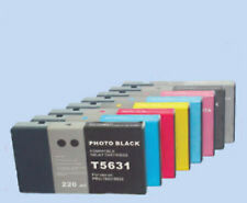 8 Epson 9800 UltraChrome K3 Stylus Pro 7800 220ml K3 Compatible  ink Cartridges