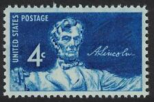 Scott 1116- Statue of Abraham Lincoln- MNH 1959 4c- US mint stamp