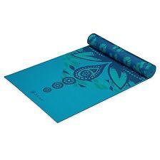 """Gaiam Print Premium Reversible """"Reflection"""" Yoga Mat, 5mm"""