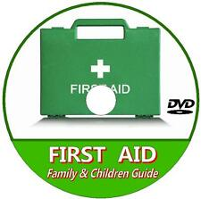 LEARN BASIC ESSENTIAL FIRST AID CARE PROCEEDURES FOR KIDS/ FAMILY VIDEO DVD NEW