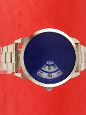 60s 70s unusual futuristic space age rare old style modern disc disk watch 71