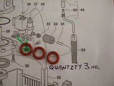 Gaggia Classic,Baby Etc, 3 Solenoid,OPV  Gaskets,/O Rings,Silicone,WGADM0041/022