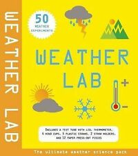NEW WEATHER LAB Ultimate science pack for 50 EXPERIMENTS test tube thermometer