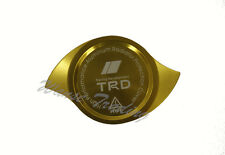 Gold Anodized CNC Aluminum TRD Radiator Cap Protection Guard Cover UNIVERSAL