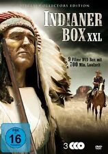 9er INDIANER BOX XXL Western WYOMING Arizona Kid MOHIKANER Indianerfilme DVD Neu