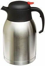 Thermos Coffee Carafe Vacuum Insulated Hot Cold Beverages Tea 2L Stainless Steel