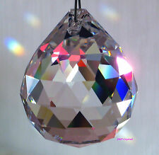 Suncatcher Hanging Crystal Feng Shui Rainbow Prism 40mm Ball