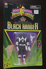 BLACK RANGER ADAM Series 2 MIGHTY MORPHIN POWER RANGERS Auto Morphin Flip Head