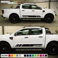 Decal Sticker Stripe kit For Ford Ranger T6 2011-2017 Wildtrak Grille Light LED